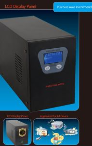 500VA off-Grid Solar Inverter with Pure Sine Wave UPS Charger Functions pictures & photos