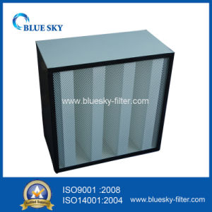 Compact Rigid Filter for The Air Conditioning with 4V-Bank pictures & photos