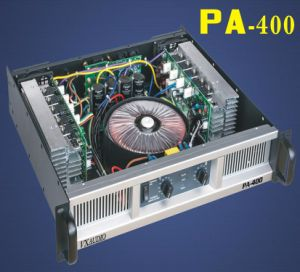 2 Channel Class H Professional Power Amplifier 2*400W (PA-400) pictures & photos