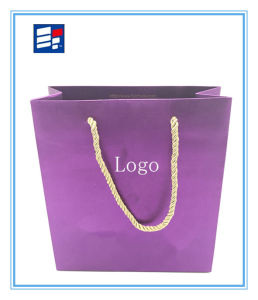Comstom Fashion Shopping Bag with Corrugated Paper pictures & photos