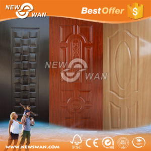 High Glossy Melamine Faced Moulded HDF Door Skin pictures & photos