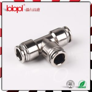 High-Quality Brass Sleeve Pneumatic Fittings PE-B pictures & photos