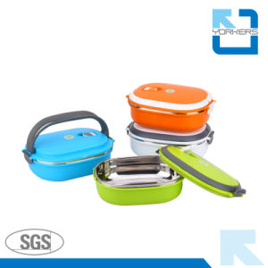 Hot Sales Stainless Steel Rectangle Bento Lunch Box pictures & photos