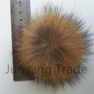 Factory Wholesale Grey Raccoon Fur Trim Sold pictures & photos