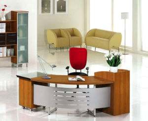 China Modern Office Furniture MFC Wooden MDF Office Table (NS-NW107) pictures & photos