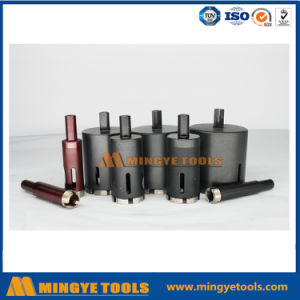 Sintered Thread Shank Diamond Core Drill Bit for Glass Drilling pictures & photos
