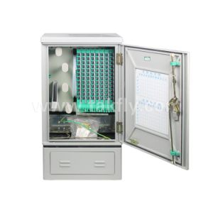 96 Cores Floor Type Fiber Optic Cross Connect Cabinets Outdoor Distribution Cabinet pictures & photos