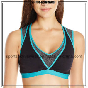 OEM Best Sublimation Custom Made Women Sports Bra pictures & photos