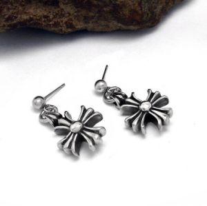 Men Cross Earrings Gothic Accessories Titanium Steel Eardrop pictures & photos
