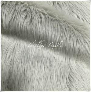 Grey Luxury Long Pile Faux Shag Fur Fabric pictures & photos