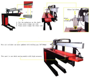 Air Receiver Housing Collimating Slit Welding Machine pictures & photos