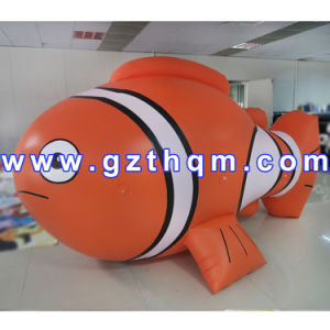 New Products Advertising Inflatable Flying Helium Fish/Helium Balloon Price Inflatable Fish pictures & photos
