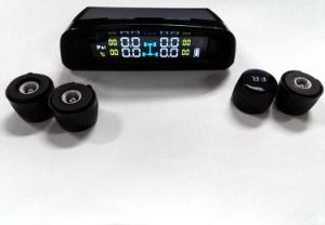 Aftermarket Tire Pressure Monitoring System Solar TPMS Wireless Tire Pressure Colorful Srceen Hot pictures & photos