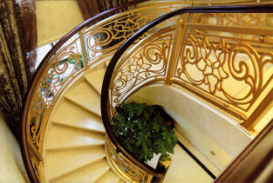 Decorative Balustrade Aluminum Staircase Railing pictures & photos