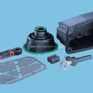 Plastic ABS Cover Steel Turning Parts pictures & photos