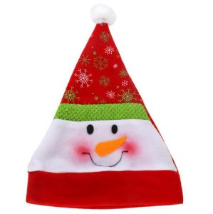 Fleece Embroidery Promotion Decoration Gift Christmas Santa Hat pictures & photos