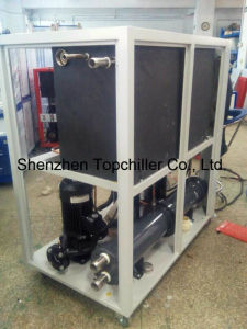Packaged Water-Cooled Water Chiller for Pasteurized Milk Juice Processing pictures & photos