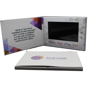 5 Inch Cmyk Printing IPS Screen Video Brochure pictures & photos