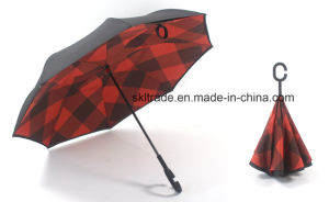 New Sun Protection Outdoor Inverted Umbrella with Double Canopy pictures & photos