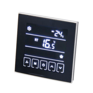 Touchable Programmable Room Thermostat for Air Condition T901 pictures & photos