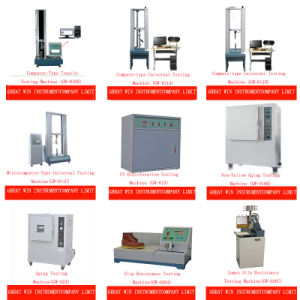 Mfi Testing Machine for Plastic Melt Flow Index Test Equipment (GW-082A) pictures & photos