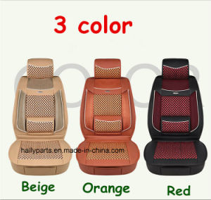 Leather Car Seat Cushion Flat Shape Seat Cover