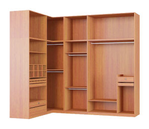 china multi functions l shape open closet wardrobe china. Black Bedroom Furniture Sets. Home Design Ideas