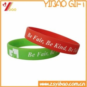 Cheap Gift Items New Silicone Bracelet Wrist Bands/Custom Silicone Wristband pictures & photos