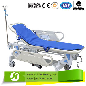 Patient Transport Folding Stretcher, Emergency Resuscitation Trolley pictures & photos
