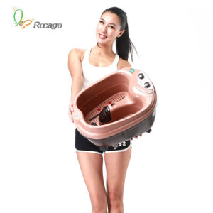 Roller Vibrating Foot Massage Machine pictures & photos