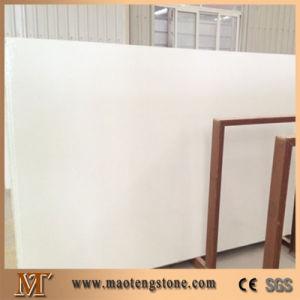 Popular Best Grade Quality Artificial Big Slabs Pure White Quartz Stone pictures & photos