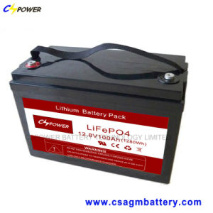 3years Warranty 12V100ah Long Life LiFePO4 Lithium Battery (VRLA) pictures & photos