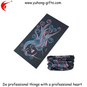 OEM Customized Pattern Headscarf 25*50cm for Promotion (YH-HS021) pictures & photos