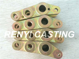 Investment Casting Crank with Zinc Coat pictures & photos