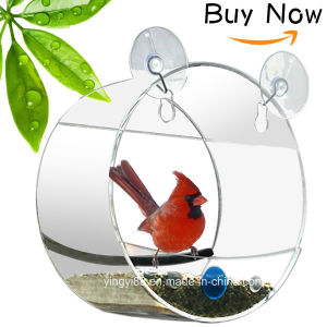 Best Price and Good Quanlity Round Window Bird Feeder pictures & photos