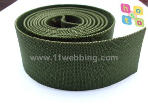 Army Green Pearl Pattern Nylon Webbing for Military Outdoor Supplies pictures & photos