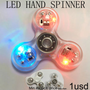 Waterproof Newest Model Best Price Crystal Color Hand Spinner pictures & photos