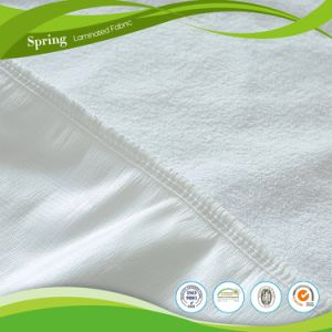 100% Polyester Mattress Protector, Wholesale Cheap Hotel Fitted Mattress Cover pictures & photos