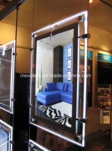 Cable Suspending Window Display LED Light Pockets pictures & photos