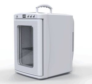 New Type Mini Fridge 25liter DC12V, AC100-240V with Cooling and Warming Fuction pictures & photos