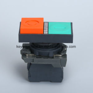 22mm 6-380V Illuminated Push Button Switch pictures & photos