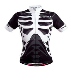 Quick Dry Breathable Funny Short Sleeve Cycling Wear for Men pictures & photos