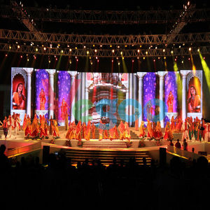 3.91mm Indoor Rental LED Display for Stage Performance