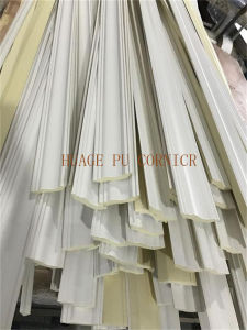 First Grade High Density Polyurethane 9.3cm Wide PU Cornice Moulding pictures & photos
