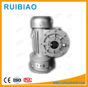 Elevator Parts Electric Motor Construction Hoist Spare Parts Worm Gearbox pictures & photos