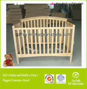 Solid Wood Baby Furniture of Baby Cot with Drawer pictures & photos