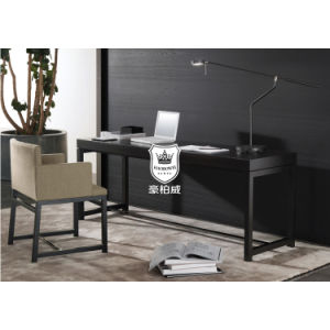 Scratch-Proof Lacquered Writing Desk and Chair Set for Hotel Bedroom pictures & photos