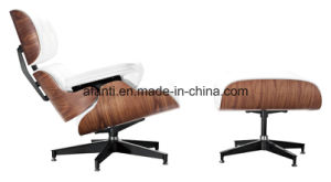 Furniture Aluminium Leather Lounge Leisure Chair with Ottoman (RFT-F3D) pictures & photos