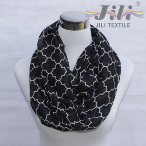 New Style Geometric Pattern Voile Scarf