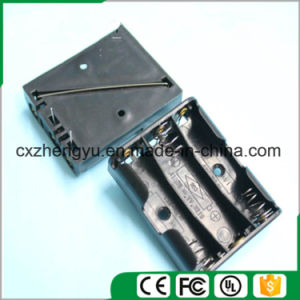 3AAA Battery Holder with Contact Pin pictures & photos